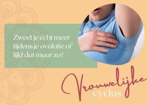 zweet ovulatie